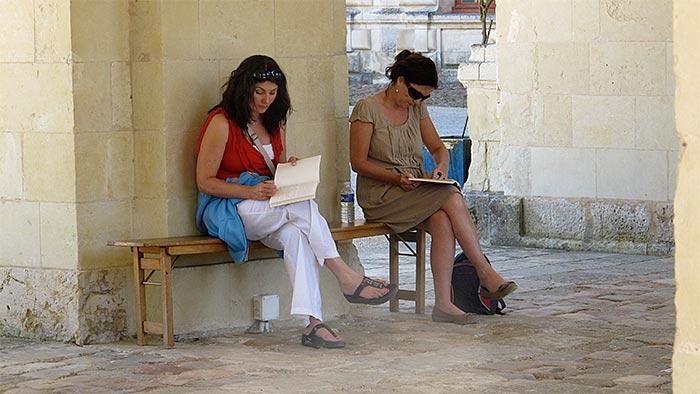 creative writing retreats france