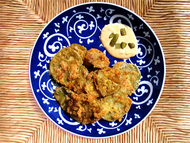 Fried Green Tomatoes With Crab Remoulade Recipes — Dishmaps