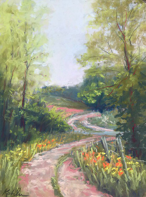 Plein Air Painting with Pastels